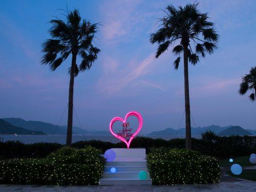 CanCam×Grand Prince Hotel Hiroshima Night Pool