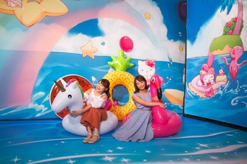サンリオピューロランドが夏のスペシャルイベント「ピューロ夏フェス2019」を開催中♪