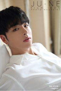 『JU-NE from iKON PHOTO MAGAZINE