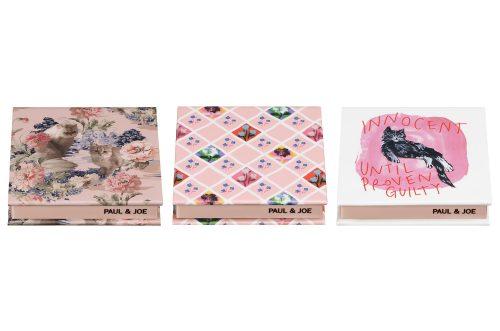 ポール & ジョー コンパクト 022、023、024全3種 各1,000円(税抜)*限定発売