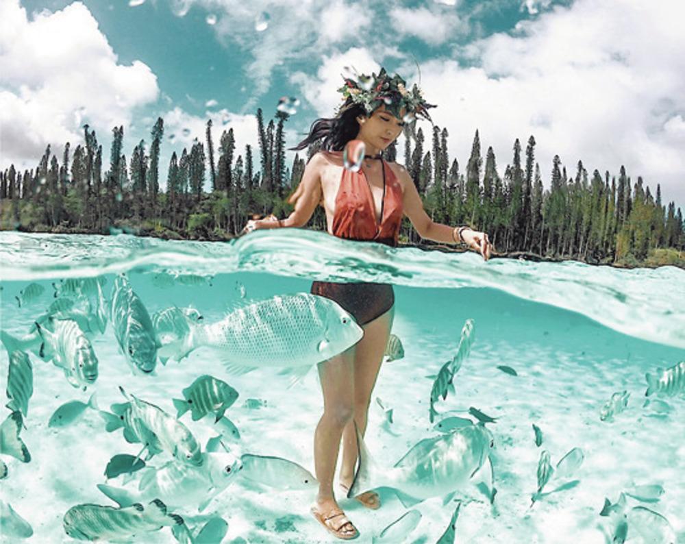 海好きインスタグラマーのUVケア