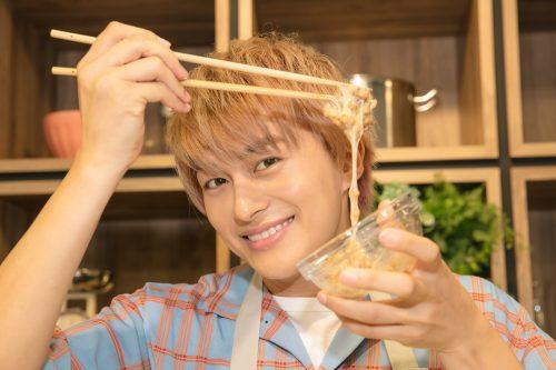 ボイメン BOYS AND MEN 小林豊 ゆたクッキング なっとーふ 納豆かき混ぜ