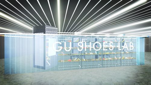 GU ジーユー 原宿 マシュマロポインテッドシューズ パンプス 新作 期間限定イベント GU STYLE STUDIO