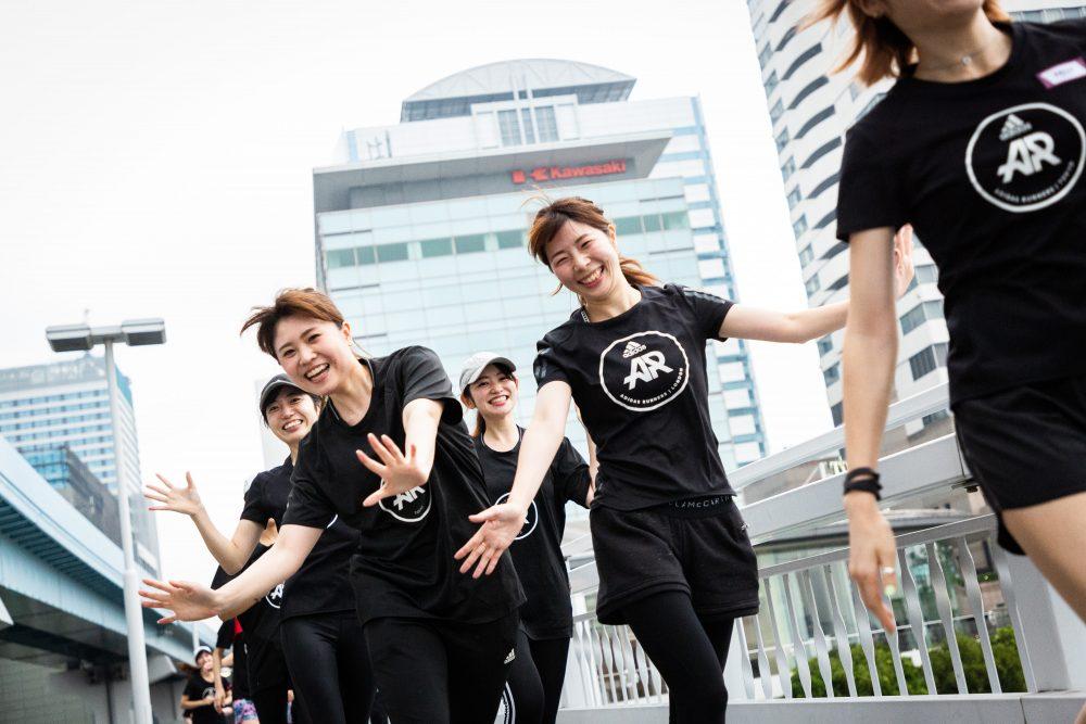 アディダス Adidas CanCam ランニングイベント 東京 女性 マラソン スポーツ