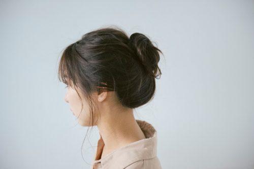 ◆ターバンを使った簡単まとめ髪