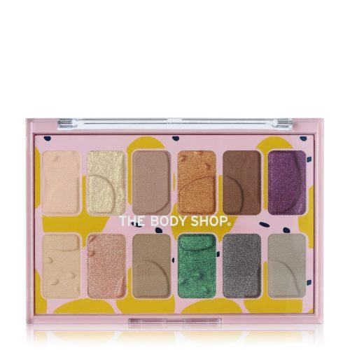 ザ・ボディショップの新定番!まぶたを自分らしく彩る12色アイパレット♡