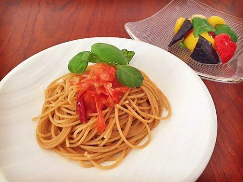 ■トマトとアンチョビのカッペリーニ
