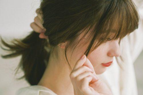 ◆デートヘアにも♡ゆるお団子のアップスタイル