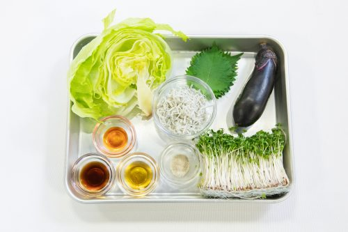 CanCam BOYS AND MEN ボイメン 小林豊 ゆーちゃむ ゆたクッキング レシピ ナスとしらすのサラダ 材料