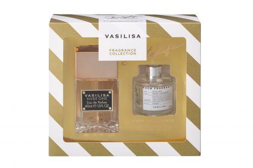 【クリスマスコフレ2019】VASILISA(ヴァシリーサ)/ディフーザー付き ヴァシリーサ ヌードワン コフレセット 40mL