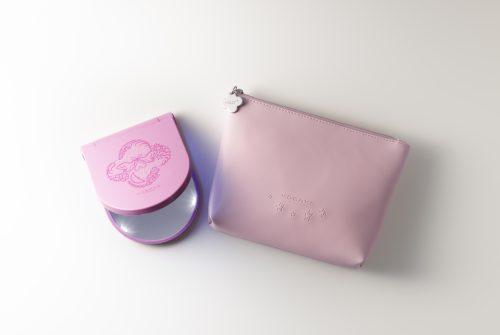 KOBAKO(コバコ)/コスメティックミラーセット ピンク
