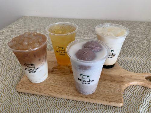 濃厚なミルクと白いタピオカで話題!台湾発ドリンクスタンド「Milksha」第一号店♪