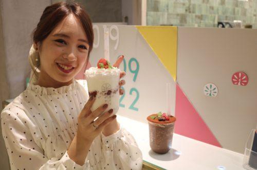 """『イロドリアザヤカ』の""""飲むケーキ""""がかわいすぎる♡"""