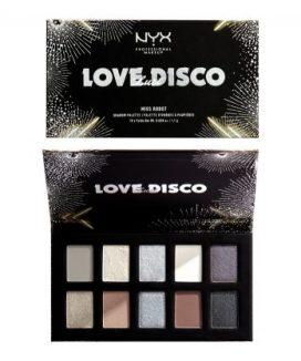 NYX Professional Makeup/ラブ ラスト ディスコ シャドウパレット リビン ラビッシュ(¥3,200)