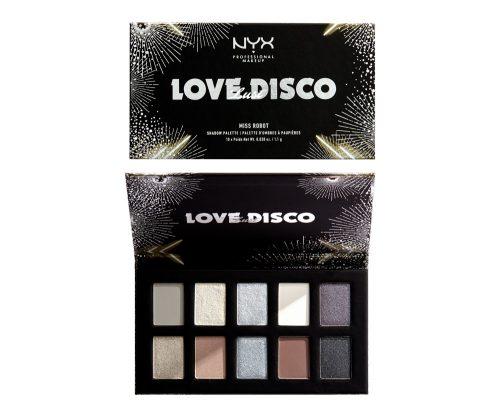 ■【クリスマスコフレ2019】NYX Professional Makeup/ラブ ラスト ディスコ シャドウパレット(¥3,200)