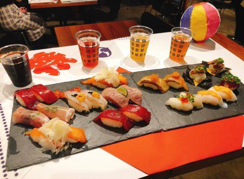 寿司ビールフェス