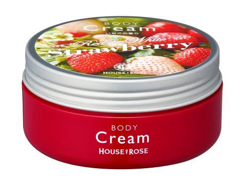ボディクリーム ST (いちごの香り)<ボディ用クリーム> 130g 本体価格1,500円(税抜)
