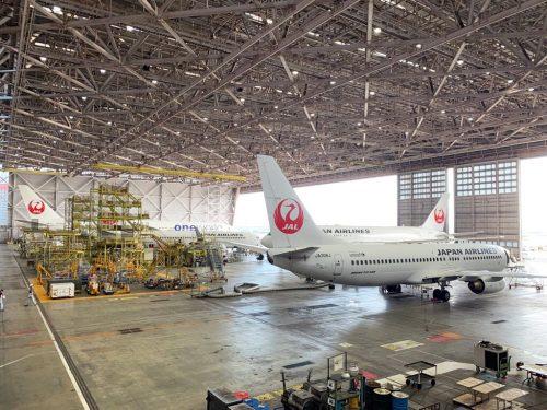 JAL工場見学 Sky Museum