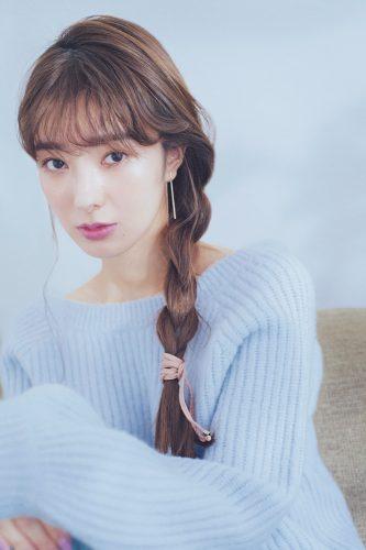 ◆片寄せロング三つ編みでうなじ見せ♡