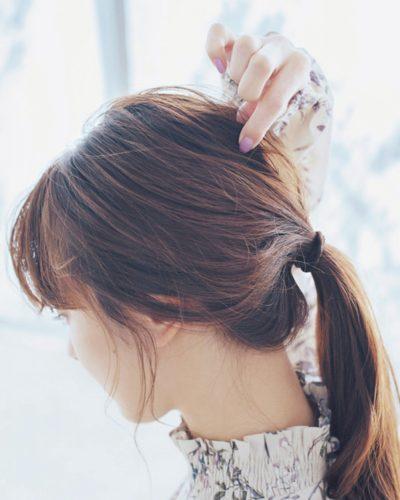 おくれ毛にドキッ!ちょいゆるヘアアレンジの作り方
