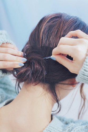 ◆キャップ×おくれ毛のエモヘアアレンジ♡