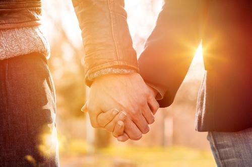 長く付き合うカップル