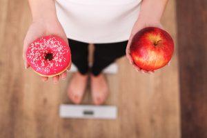 ダイエットから切り出す食べ物