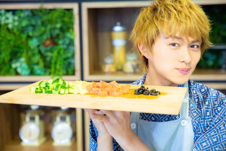 BOYS AND MEN ボイメン 小林豊 ゆたクッキング レシピ CanCam 数の子タルタルカルパッチョ