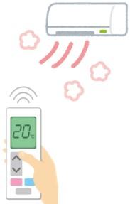 エアコン操作の画像