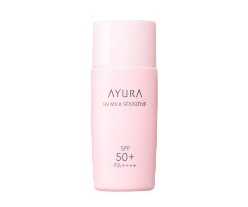アユーラ UVミルク センシティブ(医薬部外品)(敏感肌用日焼け止め)SPF50+・PA++++ 50mL 2,800円(税抜)