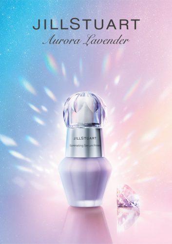 ジルスチュアート イルミネイティング セラムプライマー 02 aurora lavender 新1色 3,200円(税抜)