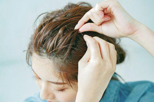 ■かっこいいショートヘアアレンジ!ふんわりオールバック