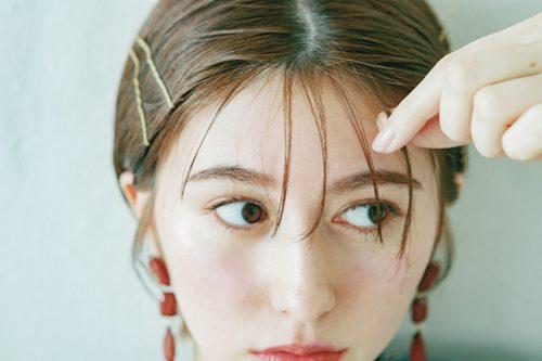 ■3分で簡単イメチェン!ピンを使った前髪アレンジ