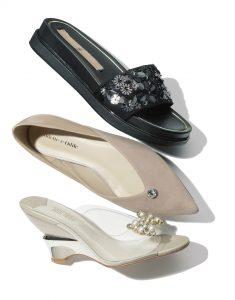 まいまい靴① 華やかディテール付き靴/3選