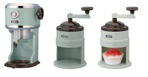 電動ふわふわかき氷器/コンパクトかき氷器