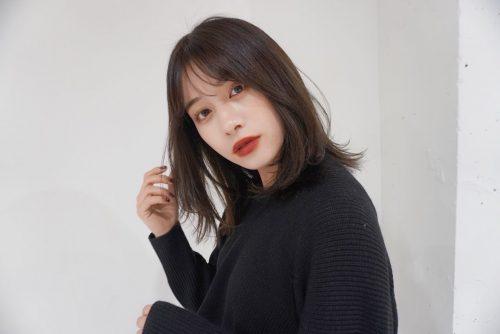 ◆顔型を選ばず人気♡シースルー前髪