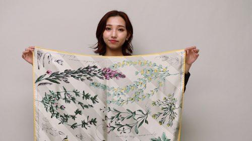 マニプリのスカーフ
