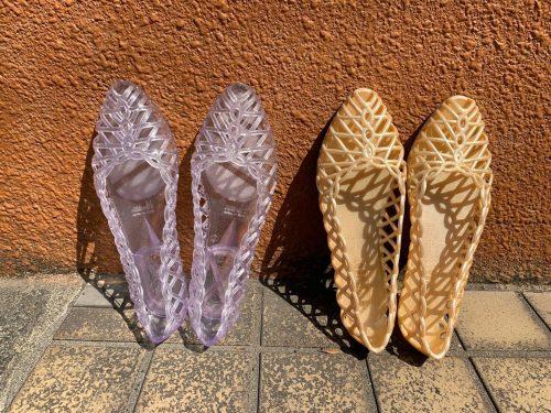 メッシュ靴2