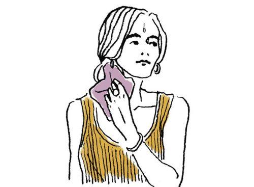 乾いたタオルで拭くのは逆効果!滝のように出る汗をピタッと止める方法