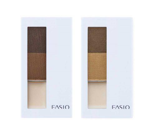 ファシオ アイブロウパウダー&ベース (BR300 ブラウン、BR301 ライトブラウン) 全2色 各1,500円(税抜)
