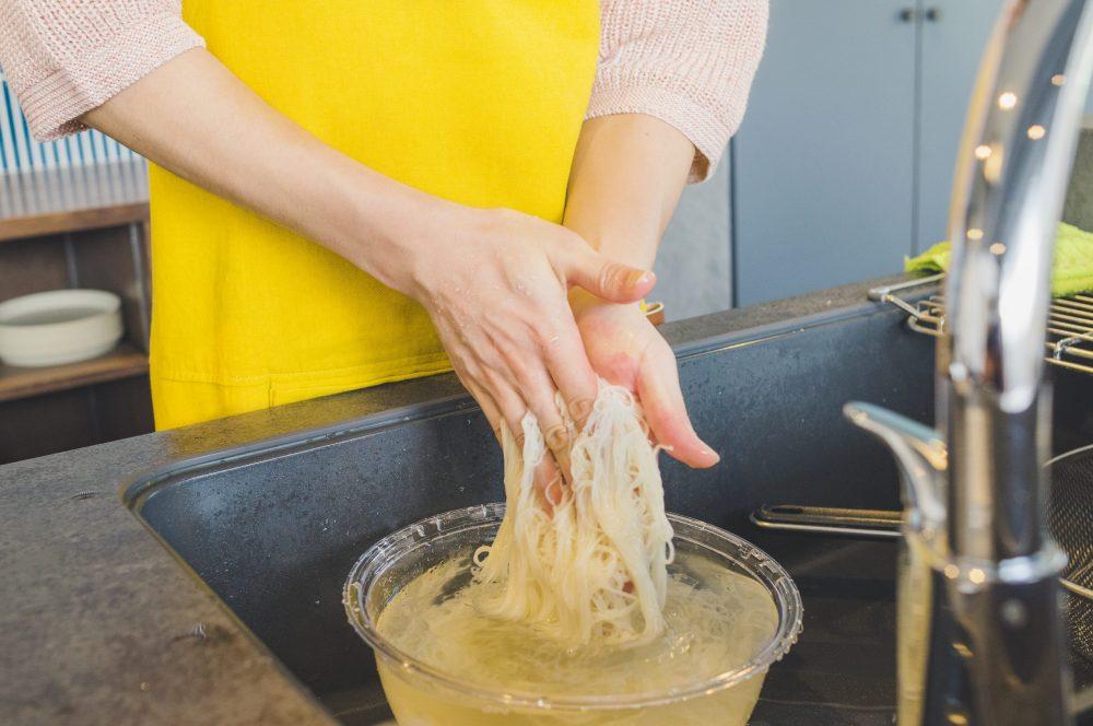 BOYS AND MEN ボイメン 小林豊 ゆーちゃむ ゆたクッキング レシピ CanCam  素麺 牛肉ごぼう アレンジ 素麺をこする
