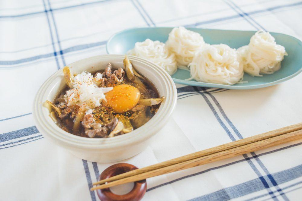 BOYS AND MEN ボイメン 小林豊 ゆーちゃむ ゆたクッキング レシピ CanCam  素麺 牛肉ごぼう アレンジ  完成