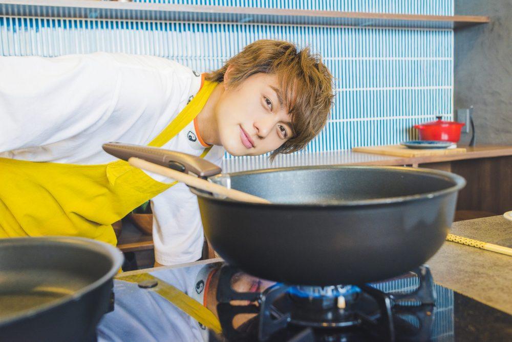 BOYS AND MEN ボイメン 小林豊 ゆーちゃむ ゆたクッキング レシピ CanCam  オムライス 彼女に作ってほしい料理 メイキング オフショット