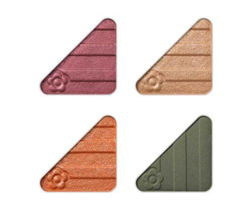 アイオープナー(アイシャドウ) 限定4色 各1,200円(税抜) (左上から)A001、A002、A003、A004
