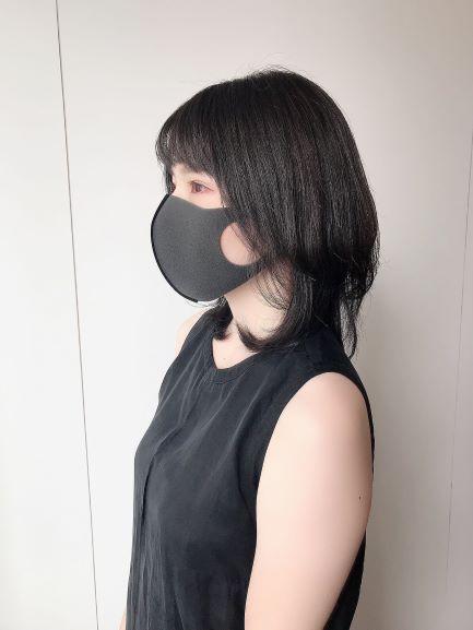 グレー ピッタ マスク
