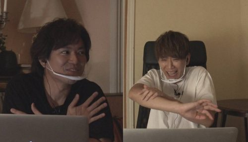 News 小山慶一郎 加藤シゲアキ 流行中の新感覚オンラインホラーゲームにビクビク Cancam Jp キャンキャン