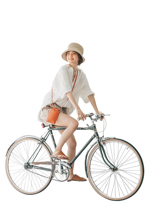 あみ的IF…♥なデート服『BIGトップス×ショーパンのコンビでサイクリングしたい♥』
