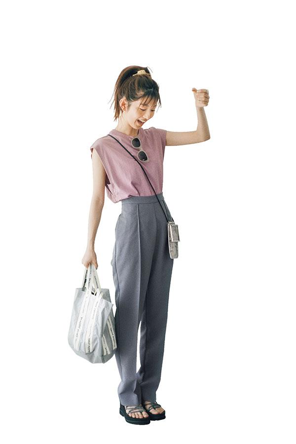 あみ的IF…♥なデート服『ダスティピンクを着て温泉デートしたい♥』