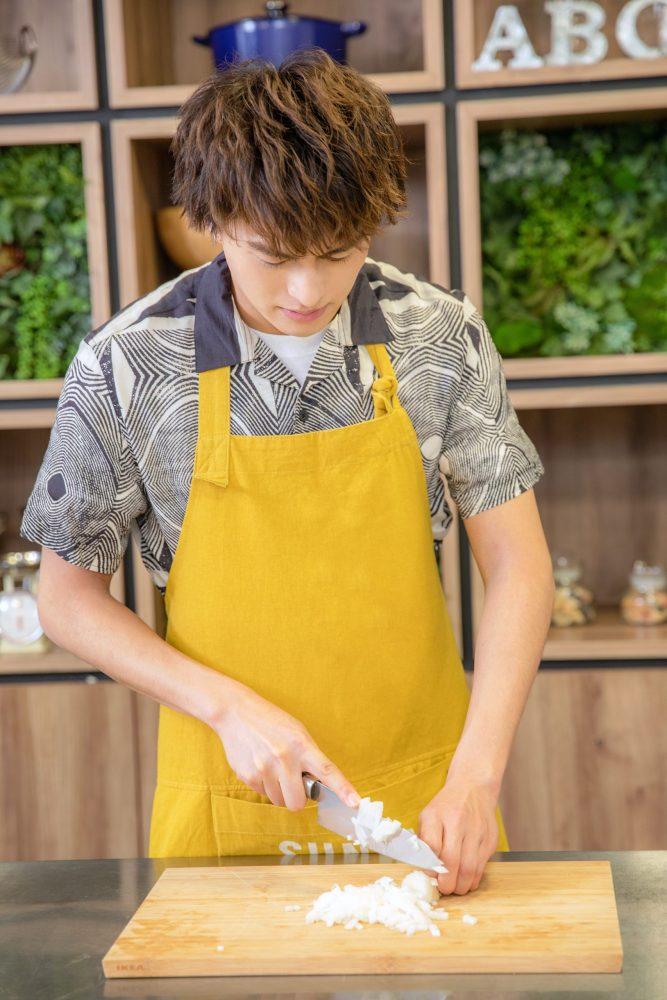 BOYS AND MEN ボイメン 小林豊 ゆたクッキング CanCam エスニック料理 チキンチリマヨ