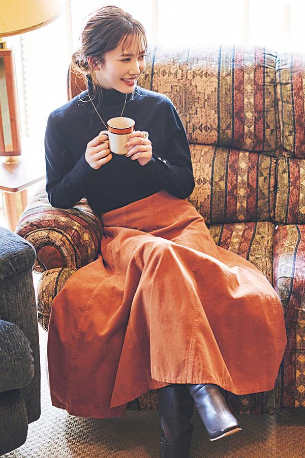 オレンジスカート